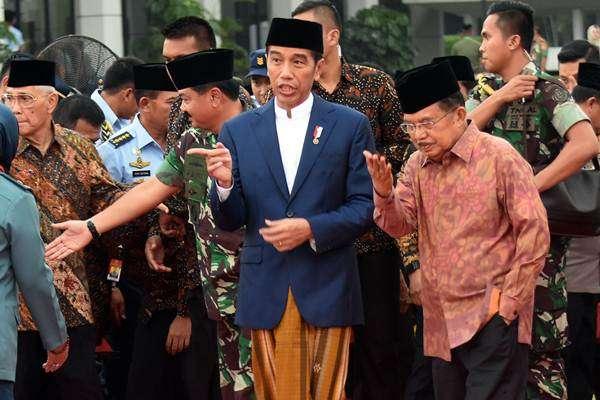 Presiden Jokowi Shalat Idul Fitri 1439 H di Kebun Raya Bogor