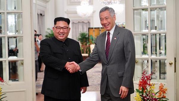 Bertemu Perdana Menteri Singapura, Kim Jong-un Berterima Kasih