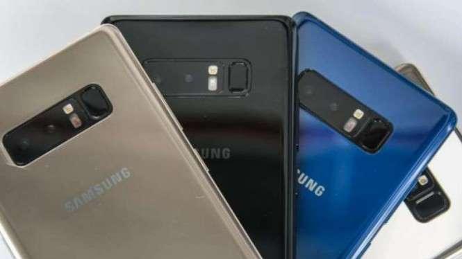 Tampak belakang Samsung Galaxy Note 9