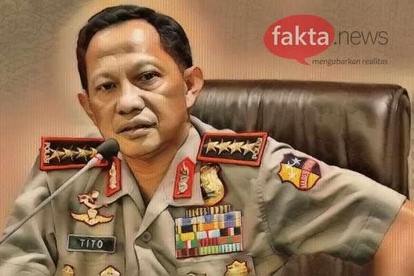 Kapolri: 110 Terduga Teroris Ditangkap Densus 88 Terkait Bom Surabaya