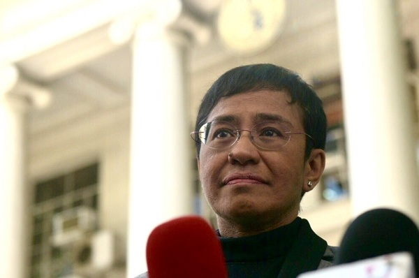 Maria Ressa, Wartawan Filipina Raih Golden Pen of Freedom Award 2018