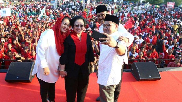 Megawati Soekarnoputri: Jatim Bakal Adem bila Dipimpin Gus Ipul-Puti
