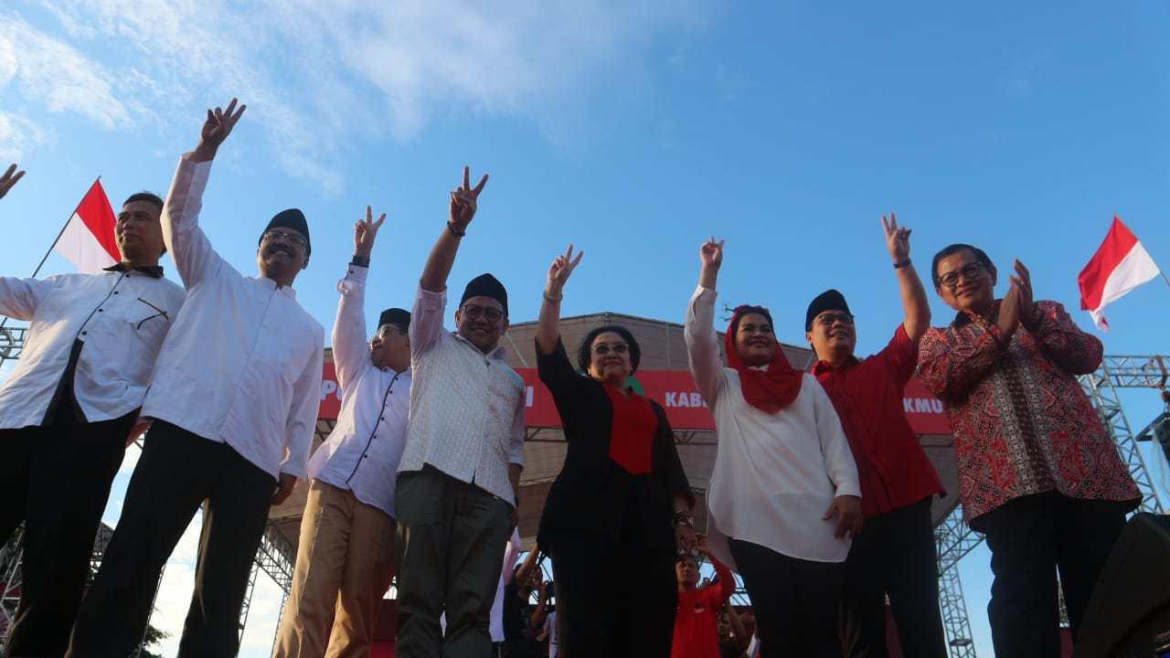 Kehadiran Pramono Anung di Kampanye Akbar Gus Ipul sebagai Simbol Jokowi