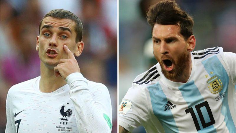 Prancis vs Argentina: Duel Antar-Juara Dua