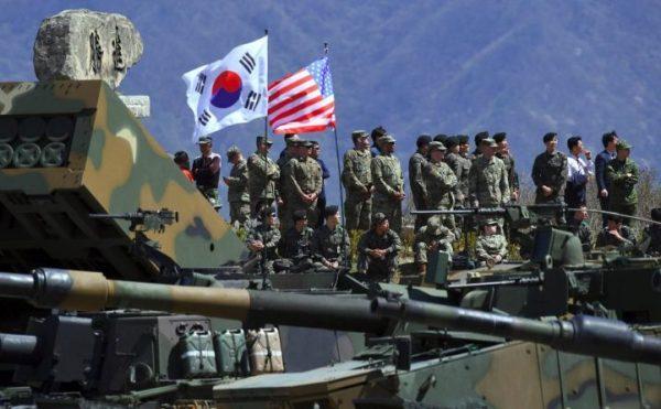 Latihan Militer Gabungan AS-Korsel Ditangguhkan
