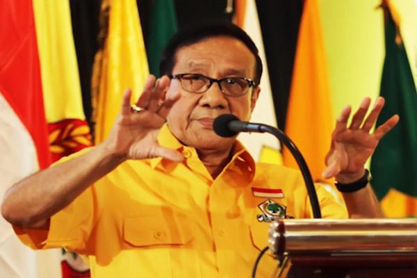 Akbar Tanjung Minta Anies Penuhi Janjinya Sebagai Gubernur DKI Jakarta