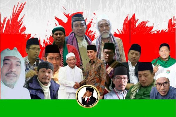 Ulama se Jabodetabek Gelar Deklarasi Dukung Jokowi Dua Periode
