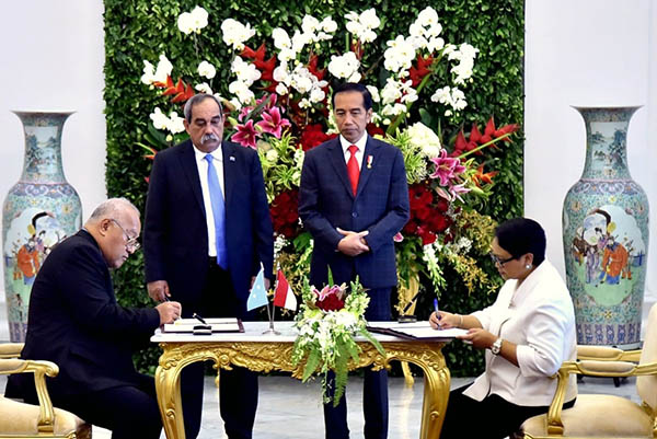 Indonesia dan Federasi Mikronesia
