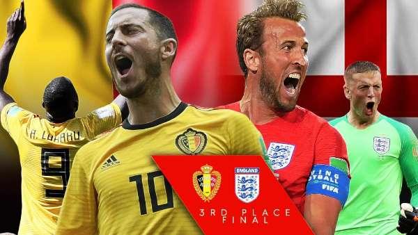 Belgia versus Inggris, Siapa Layak Juara Tiga?