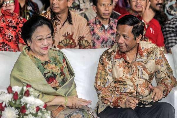Megawati Beri Sinyal Positif Mahfud MD Menjadi Kandidat Cawapres Jokowi