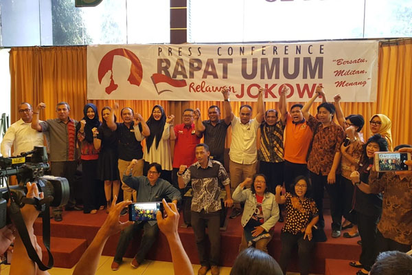 Rapat Umum Relawan Jokowi, Upaya Pemenangan Jokowi 2019-2024