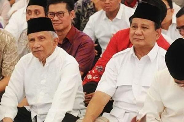 Berebut Capres, Gerindra Tolak Amien Rais dan Tetap Calonkan Prabowo