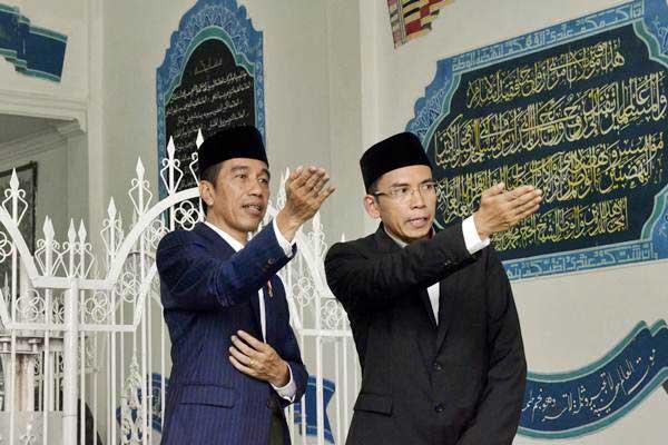 TGB untuk Jokowi, basis suara prabowo, golkar, jokowi-maruf, jawa barat