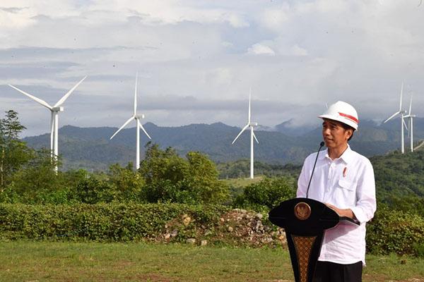 Terbesar di Indonesia, PLTB Sidrap Diresmikan Presiden Jokowi