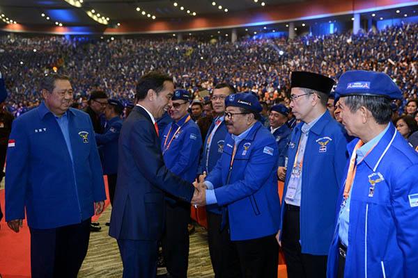 PDIP Harap Ucapan SBY Isyarat Bergabungnya Demokrat ke Jokowi