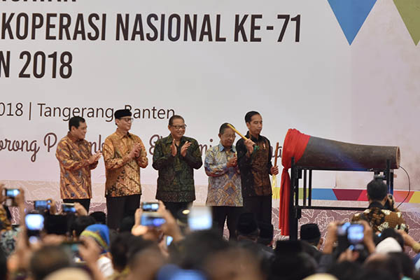 Presiden Jokowi Ingin Ada Koperasi Nasional Masuk 100 Besar Koperasi Global