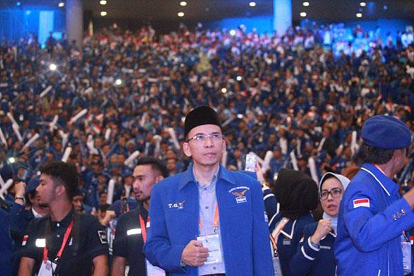 Kirim Surat ke SBY, Akhirnya TGB Mundur dari Partai Demokrat