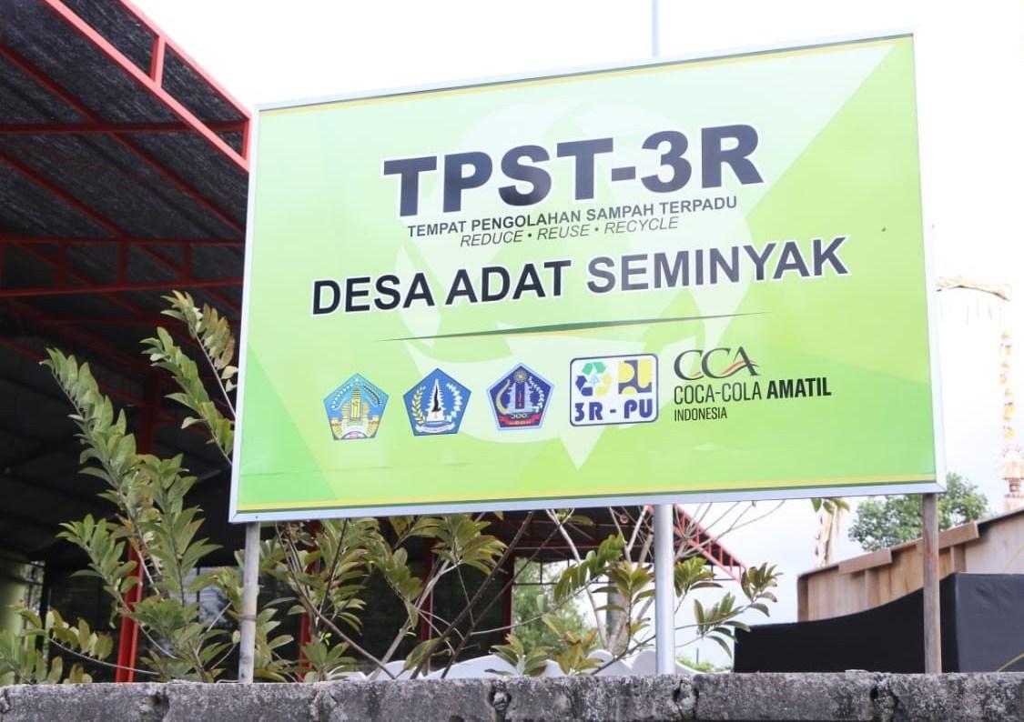 TPST 3R di Desa Adat Seminyak, Bali