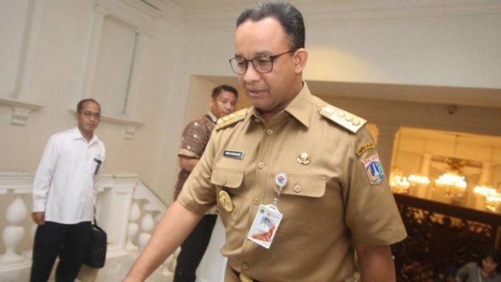 Gubernur Anies Sibuk Manuver Politik, Jakarta Terbengkalai