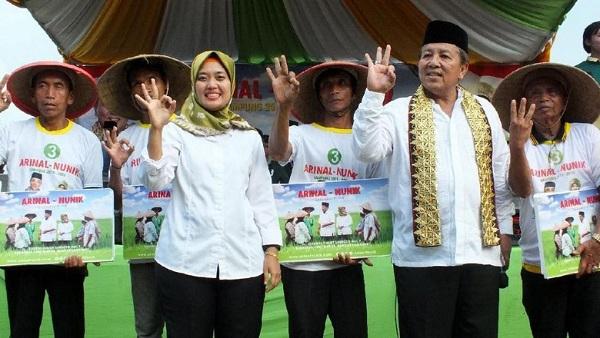 Cagub Arinal Dukung Jokowi di Pilpres 2019 Setelah Pastikan Unggul Quick Count