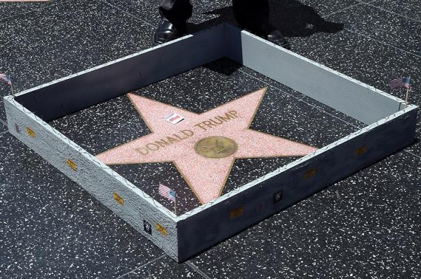 Bintang Trump di Hollywood Walk of Fame Kembali Dirusak, Pelaku Didenda Rp 288 Juta