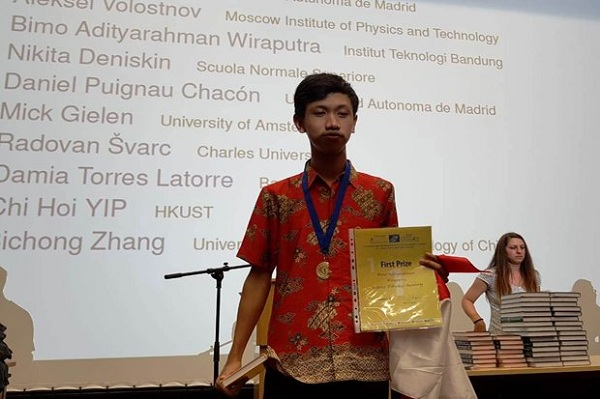 Menangi Kompetisi Matematika Internasional di Bulgaria, Mahasiswa ITB Ini Raih Medali Emas