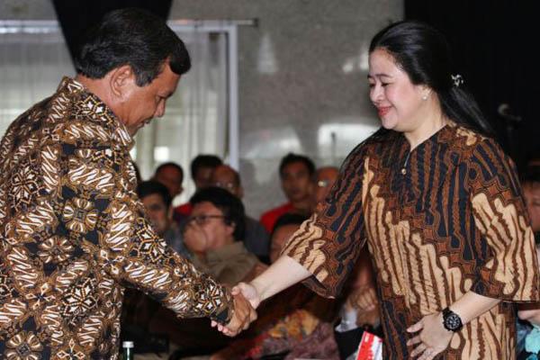 Selain Bertemu SBY, Prabowo Gelar Pertemuan dengan Puan Maharani