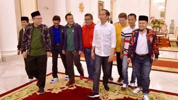Jokowi Bertemu dengan 9 Sekjen Partai Pendukung, Ini Hasil Pembicaraannya