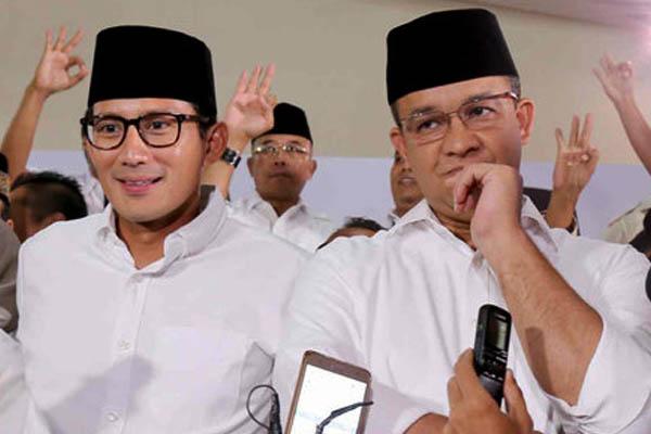 Anies Pilih Fokus di DKI, Sandiaga Uno Masuk Bursa Cawapres Gerindra