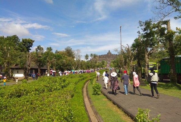 Keadaan Rupiah Dorong Peningkatan Jumlah Turis Asing