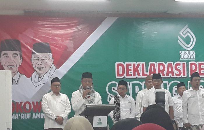 Rommy Deklarasikan Relawan Sarung Jokowi