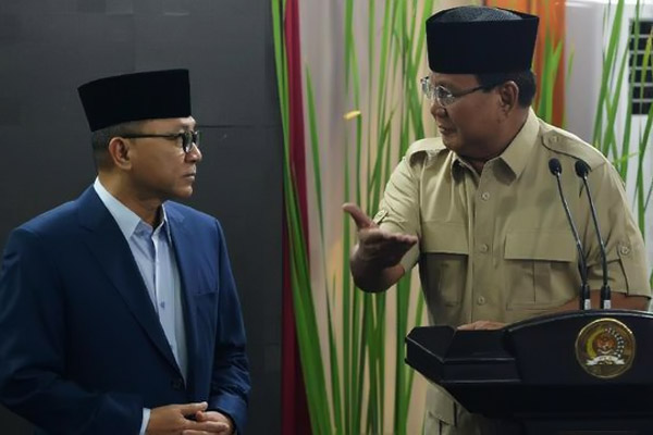 Hubungan Gerindra dan PAN Mencair, Bimbang Jokowi atau Prabowo?