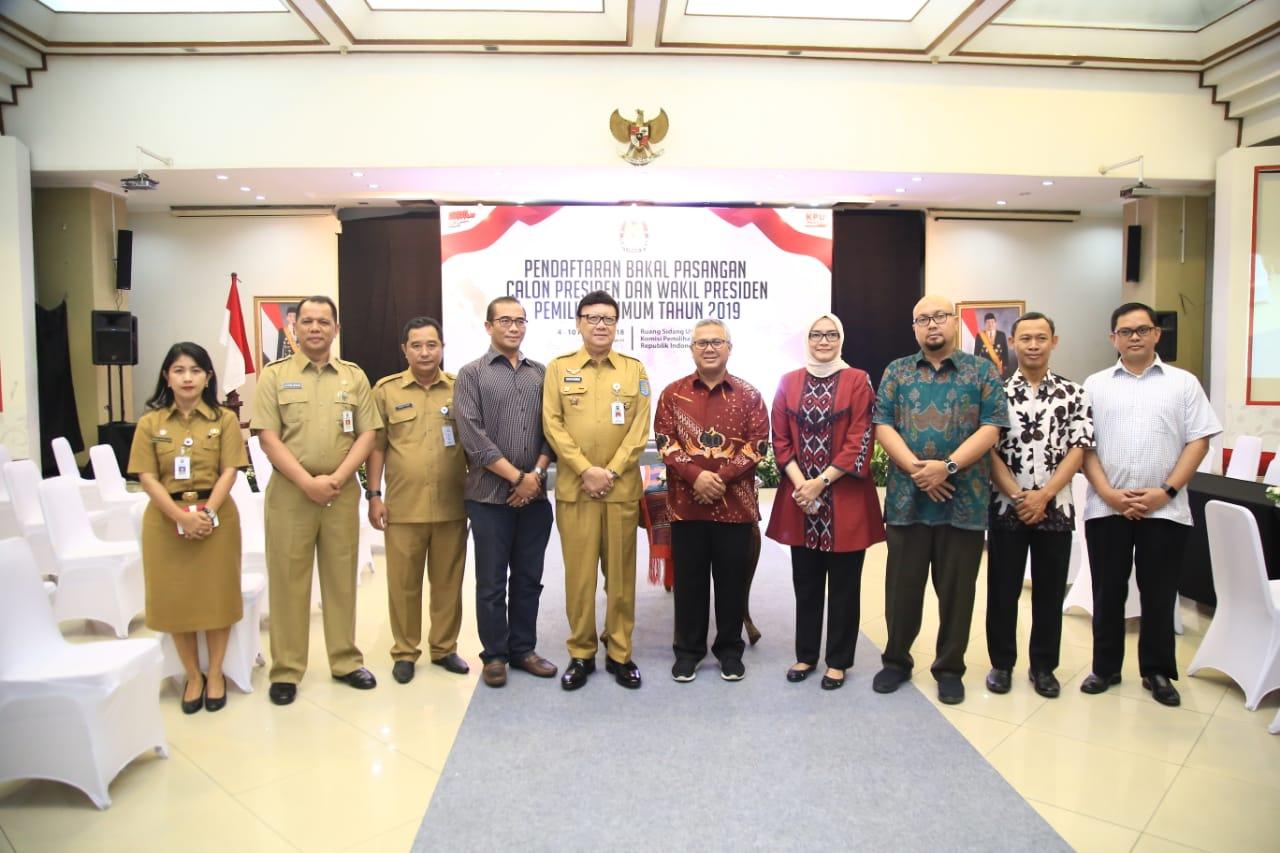 Mendagri Apresiasi Kinerja KPU dalam Mempersiapkan Tahapan Pemilu 2019