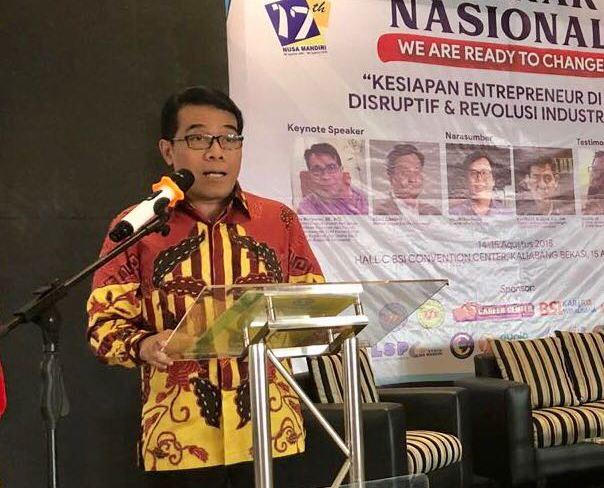 Wirausaha Indonesia Harus Mampu Adaptasi dengan Revolusi Industri 4.0