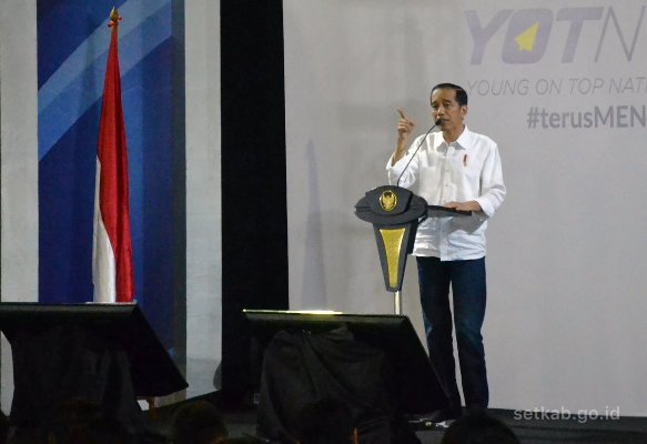 Ketika Jokowi Bertemu Jess No Limit