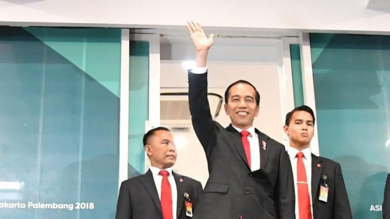 Ada Pihak yang Tak Senang dengan Aksi Presiden Jokowi Saat Pembukaan Asian Games, Ini Penjelasan Kepala Bekraf