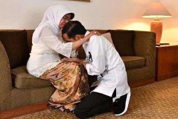 Jokowi Sampaikan Selamat Atas Pencalonan Prabowo dan Sandiaga