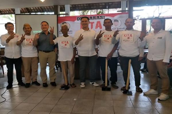 Halau Gerakan Ganti Presiden, Warga Jabar Gelar Deklarasi KITA Jokowi