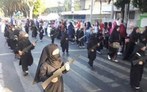 Ketua DPR Sayangkan Aksi Anak-anak TK Memakai Cadar dan Bawa Senjata Saat Karnaval di Probolinggo