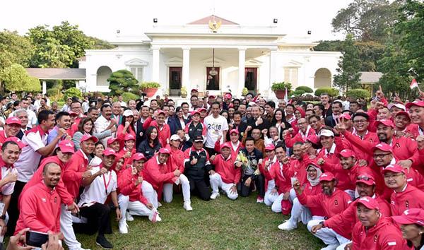 Presiden: Rakyat Menanti Indonesia Raya Berkumandang di Asian Games ke-18