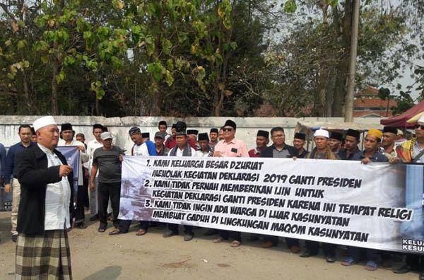 Keturunan Sultan Banten Tolak Makam Leluhurnya Dipakai Gerakan Ganti Presiden