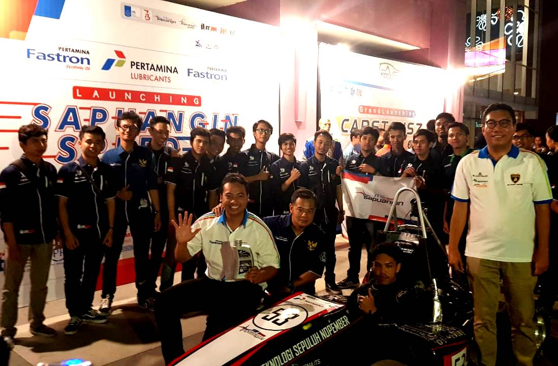 Pertamina Lubricants Dukung Mobil Formula Sapuangin Speed 6 Menjadi Juara Dunia
