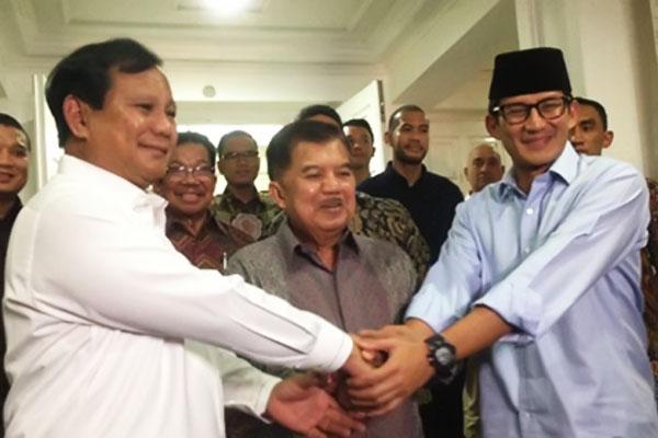 KAHMI: Prabowo-Sandi Aneh, Sering Kritik Pemerintah tapi Minta Saran ke Wapres JK