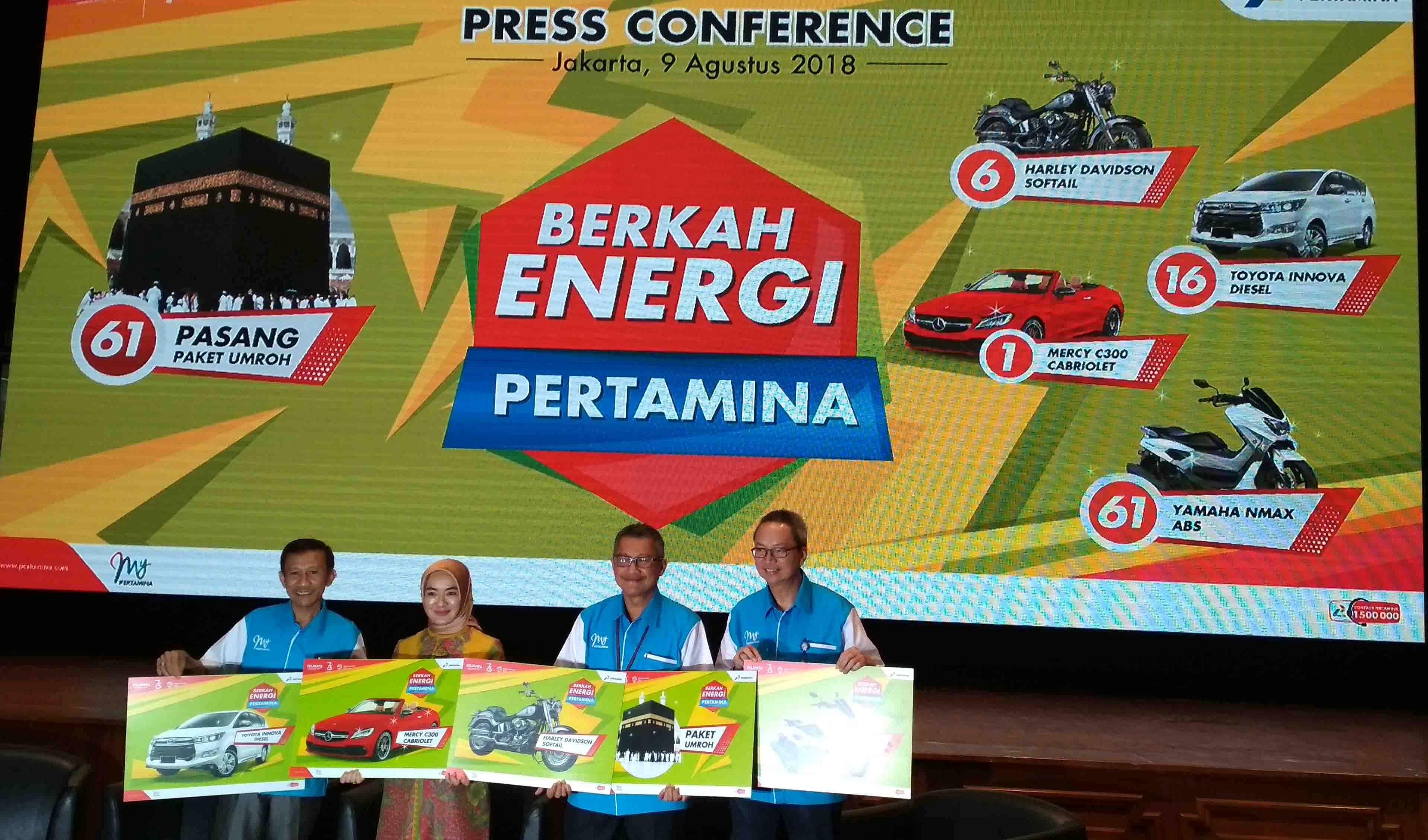 Ayo Berburu Hadiah Menarik di Program Berkah Energi Pertamina