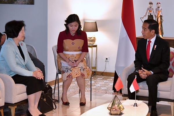 Presiden Jokowi Apresiasi Tiongkok sebagai Pengirim Kontingen Terbesar pada Asian Games