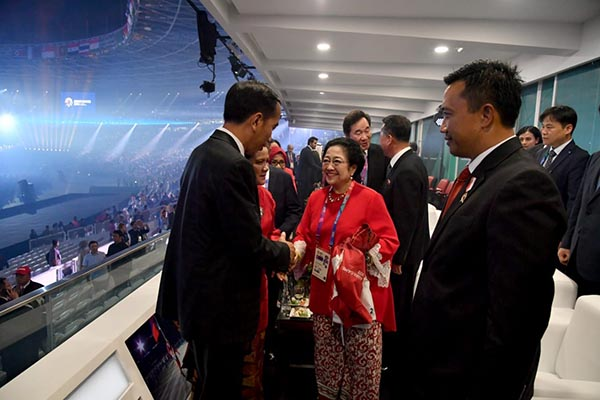 PDIP Apresiasi Presiden Jokowi dan Panitia Pembukaan Asian Games ke 18