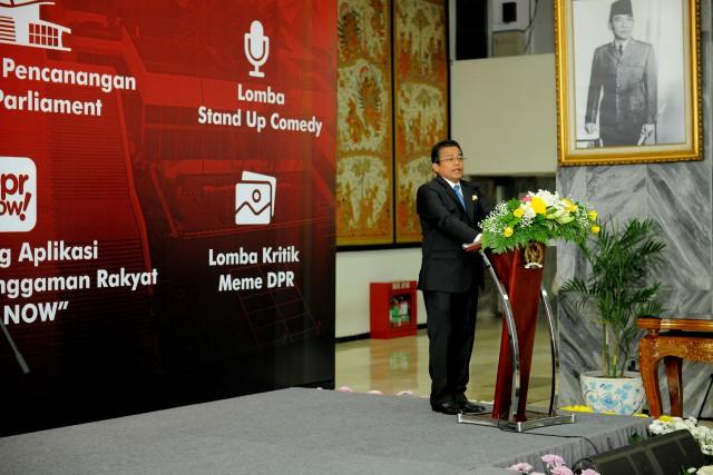 HUT ke-73 DPR: Berharap Segera Terwujudnya Parlemen Modern