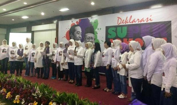 Galang Suara Perempuan, Relawan Super Jokowi Dideklarasikan