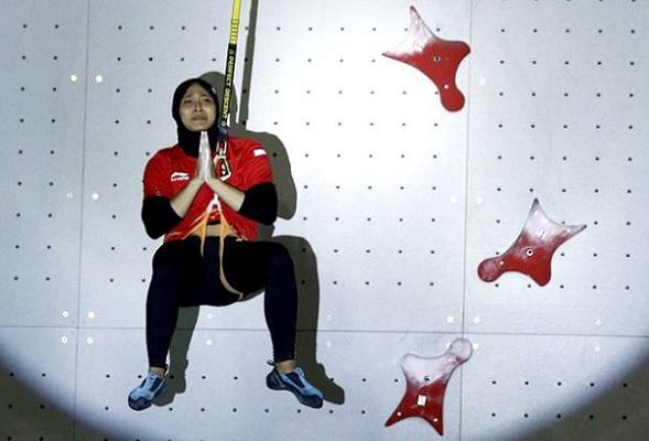 Indonesia Kembali Raih Emas Melalui Cabang Olahraga Panjat Tebing