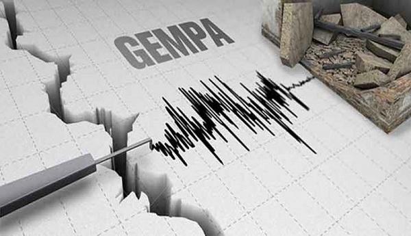 Siang Ini Gempa 6,2 dan 5,8 SR Kembali Guncang Kupang